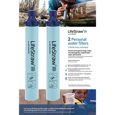 LifeStraw By Vestergaard Personal Water Filter **NEW SEALED**