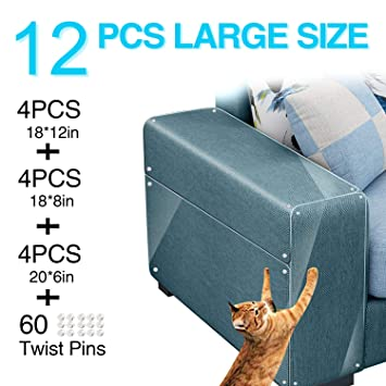 Brilliant Maoyea Furniture Protectors From Cats Cat Scratch Deterrent Sheet Double Sided Training Tape An Ti Pet Scratch For Leather Couch Furniture Protector Andrewgaddart Wooden Chair Designs For Living Room Andrewgaddartcom
