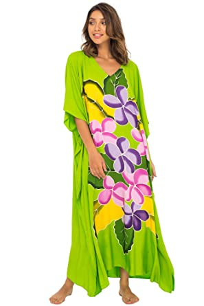 0115f8be1d3 Back From Bali Womens Long Maxi Beach Cover up Caftan