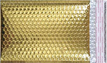 "#0 Metallic Gold Bubble Mailer, 6.5"" x 9.25"" ..."