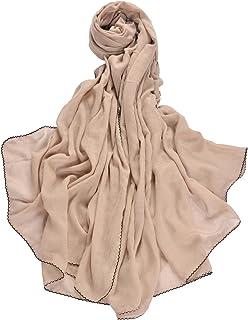 d805a963ab8db Miobo XXL Damen Stola Schal Unifarbe 220x 140 cm in verschiedenen Farbe aus  Viskose
