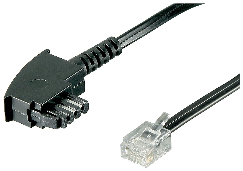 10 m NTBA/DSL Splitter Anschlusskabel 10m TAE-F: Amazon.de: Elektronik