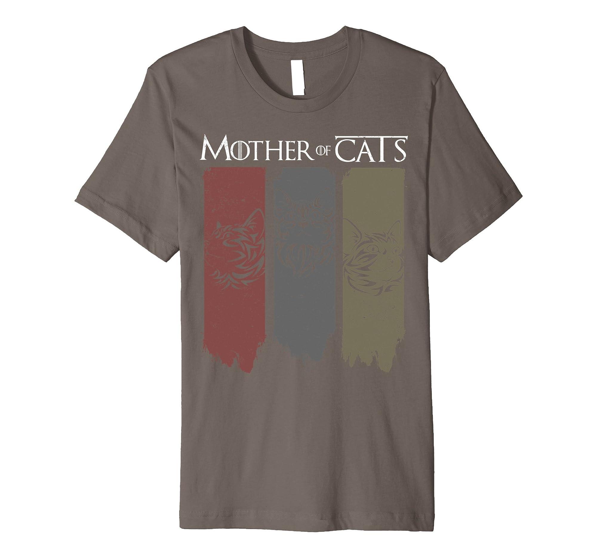 Dtanice Shirt Dta Premium Cat Lovers Shirt - Mother Of Cats Hot 2017 T-shirt
