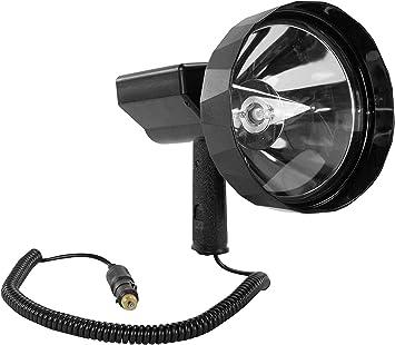 45 Million Candlepower Handheld Spotlight 10 Lens 80 Watt Hid 7200 Lumens Spot Flood Amazon Com