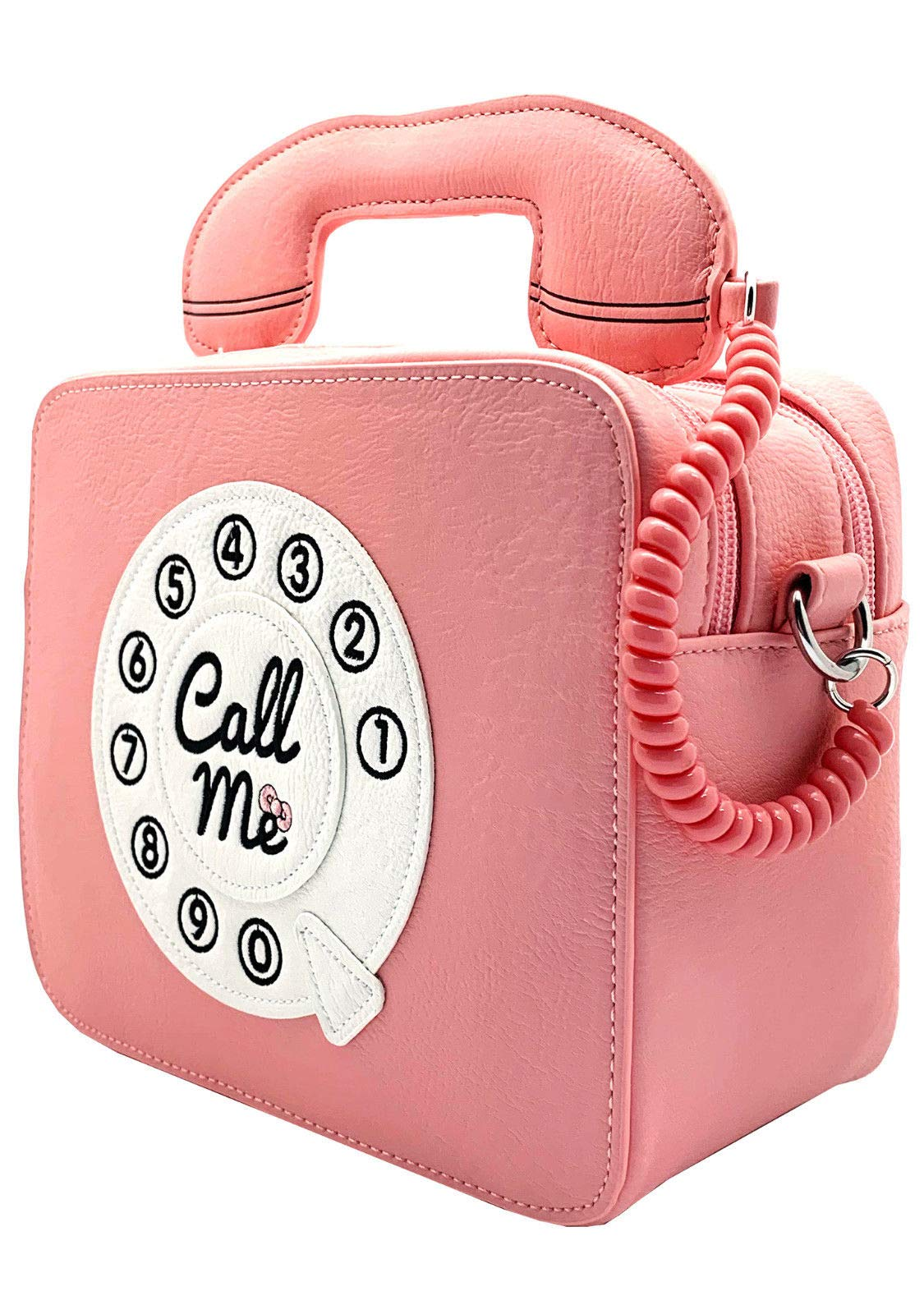 Loungefly x Sanrio Hello Kitty Telephone Call Me Crossbody Purse (One Size, Pink) by Loungefly (Image #2)