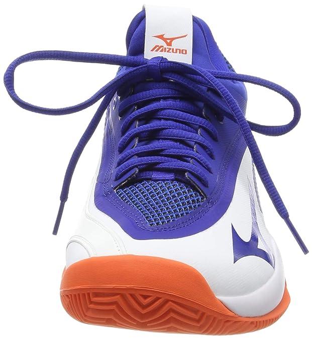 Mizuno Wave Impulse CC, Zapatillas de Tenis para Hombre, Blanco ...