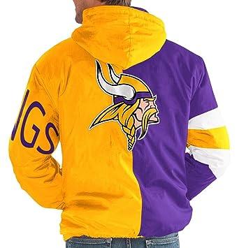 huge selection of 50fb7 18b46 Amazon.com: Minnesota Vikings NFL Starter Knockdown Full ...