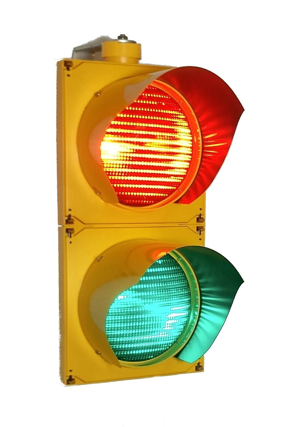 Red Green LED AC Traffic Signal Light