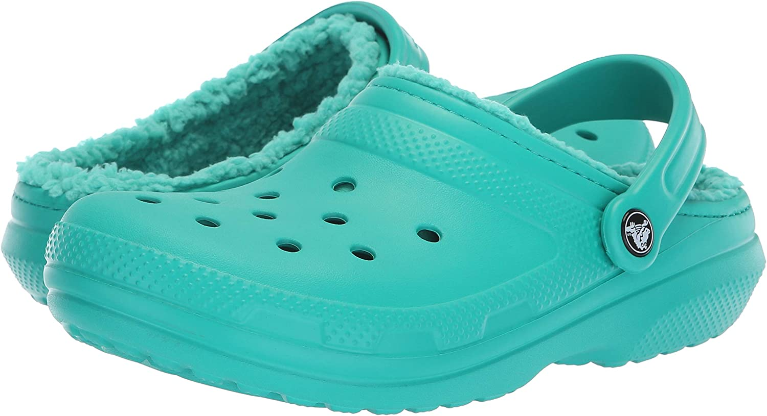 Warm and Fuzzy Slippers Mule Crocs Classic Lined Clog