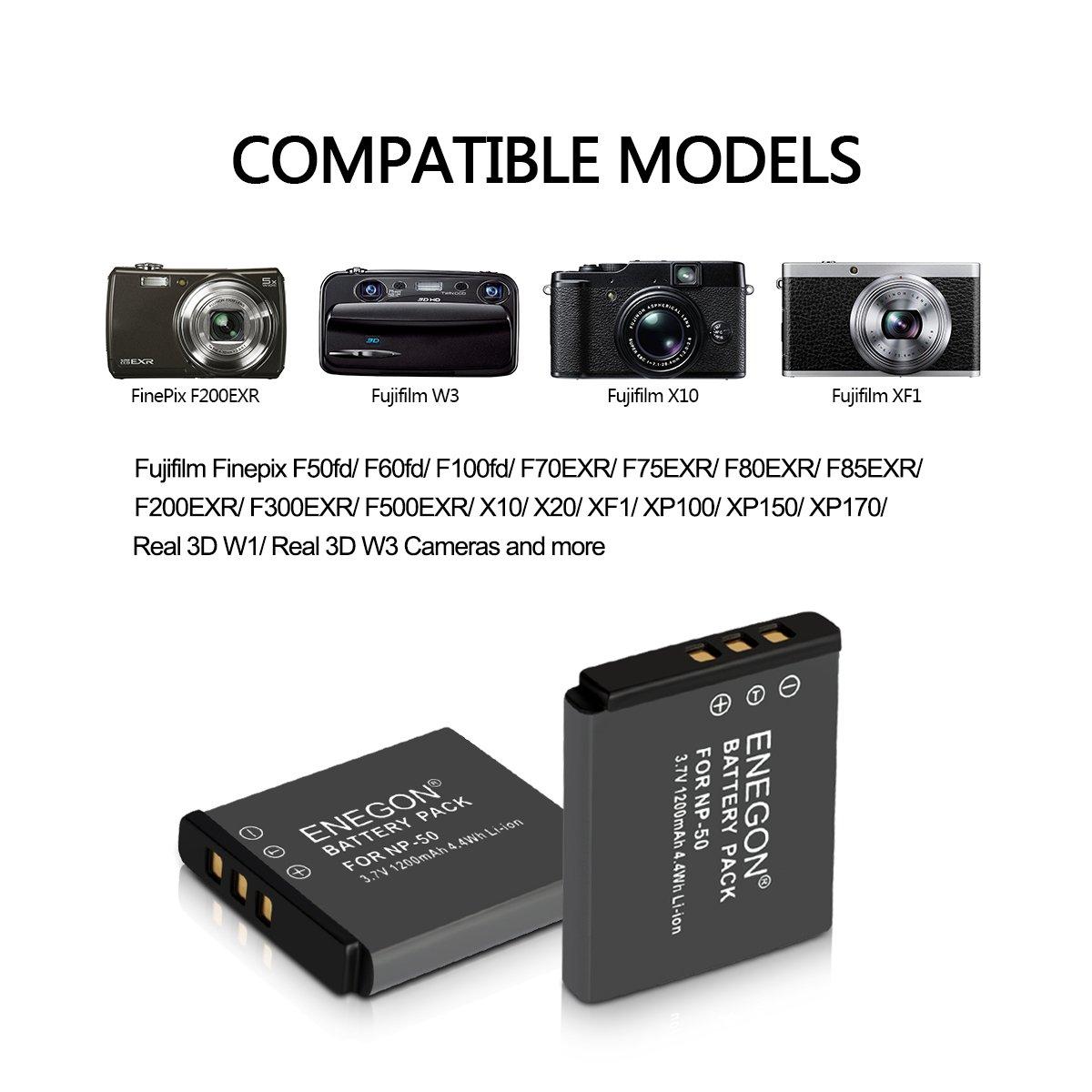 KAMERA AKKU BATTERIE ACCU FÜR FUJI Fujifilm Finepix F800 EXR