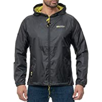 Geographical Norway Chaqueta impermeable con capucha para hombre