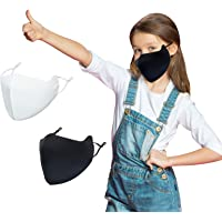 Kids Face Covering Washable, Reusable, Adjustable UV Protection for Boys Girls
