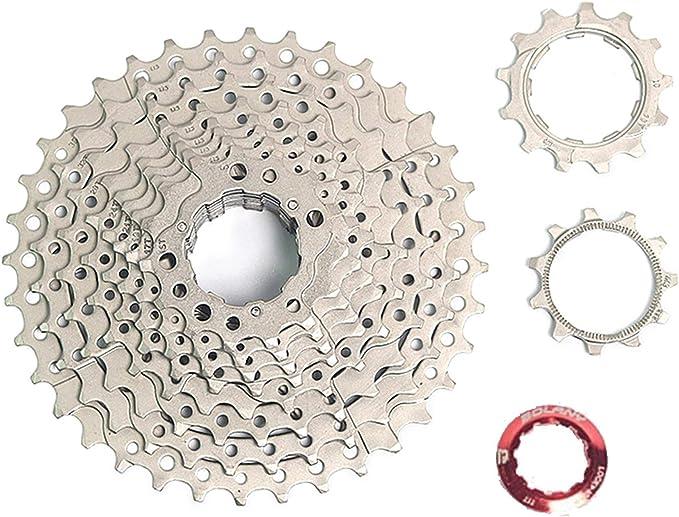 BOLANY MTB Bike 9 Speed 11-32T Gold Cassette Flywheel fit Sram Avid Shimano