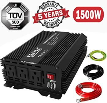 ERAYAK 1500W Power Inverter for Car