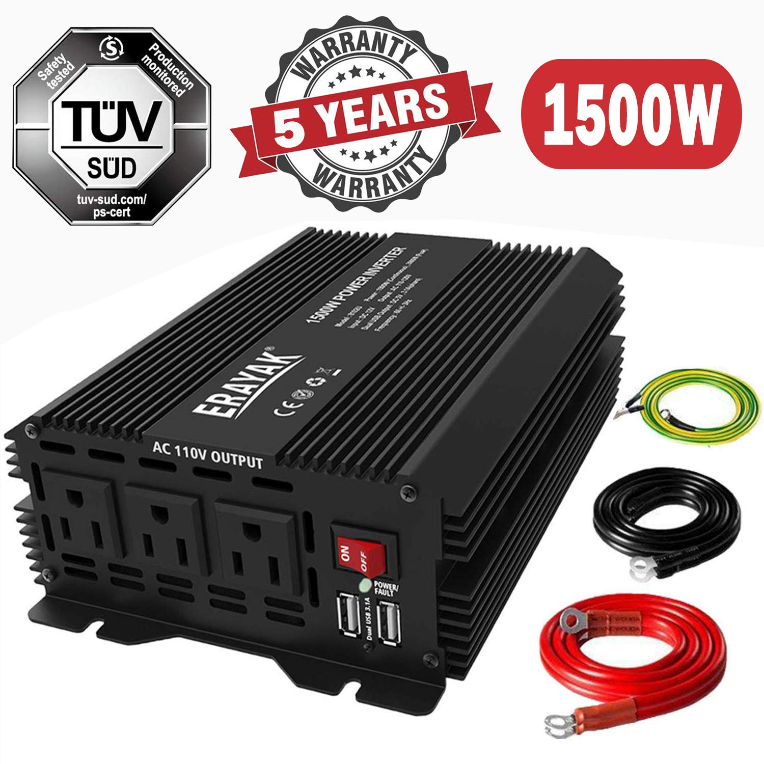 Best Power Inverter For Trucks - Our Top 5 Reviewed 2020 5
