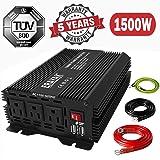 1500W Power Inverter for Car 12V DC to 110V AC