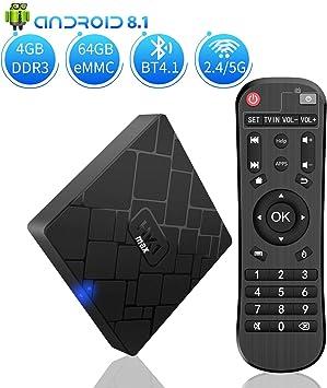 Android 8.1 TV Box - Boîte Smart TV NBKMC Smart Box Box Quad Core 4 Go de