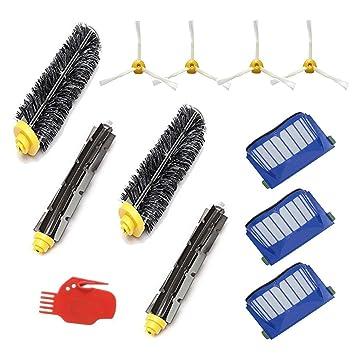 Smartide Kit di sostituzione serie 600 per iRobot Roomba 600 605 610 615 616 620 621 625 630 631 632 639 650 651 660 670 series: Amazon.es: Hogar