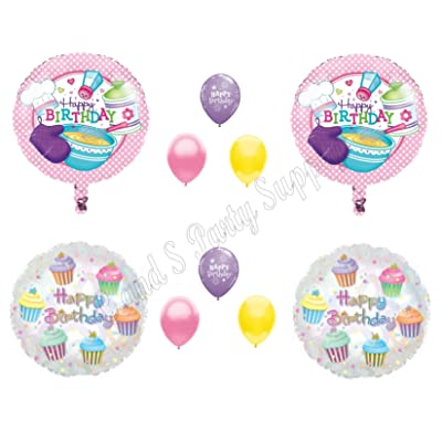 LITTLE CHEF BAKING KITCHEN PLAYTIME Birthday Party Balloons Decoration Supplies: Everything Else