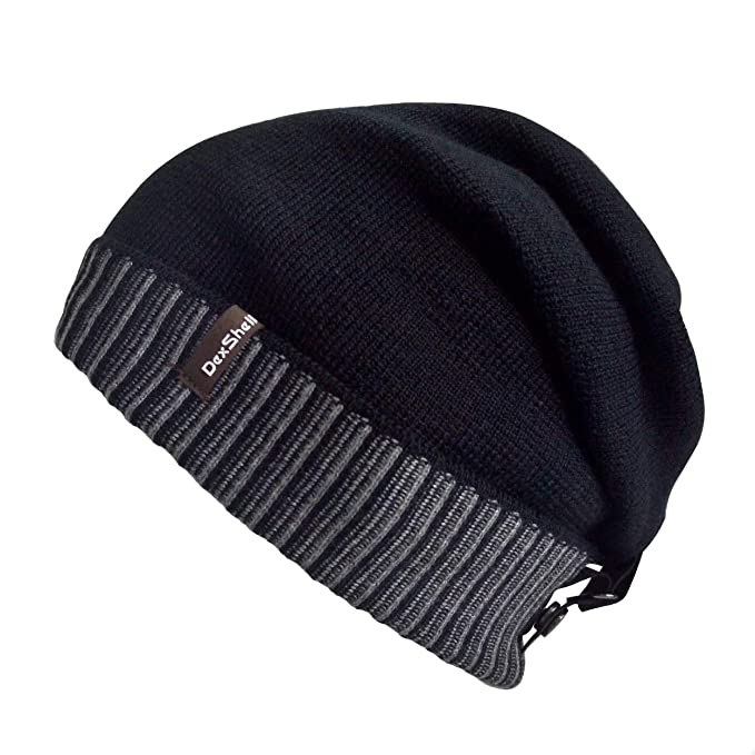 462bd39ceb8 Amazon.com  DexShell Waterproof Beanie Slouch Back
