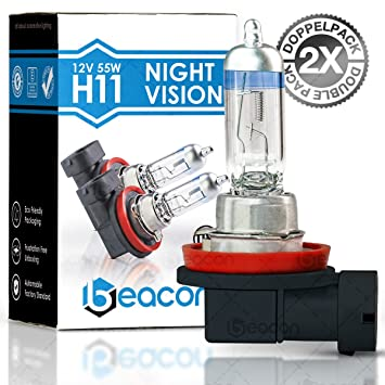 Beacon h11 night vision headlight bulb maximum safety in rain beacon h11 night vision headlight bulb maximum safety in rain snow and wet publicscrutiny Images