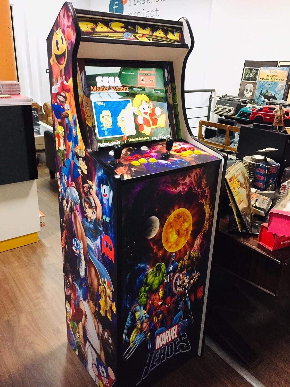 Maquina arcade retro tamaño real