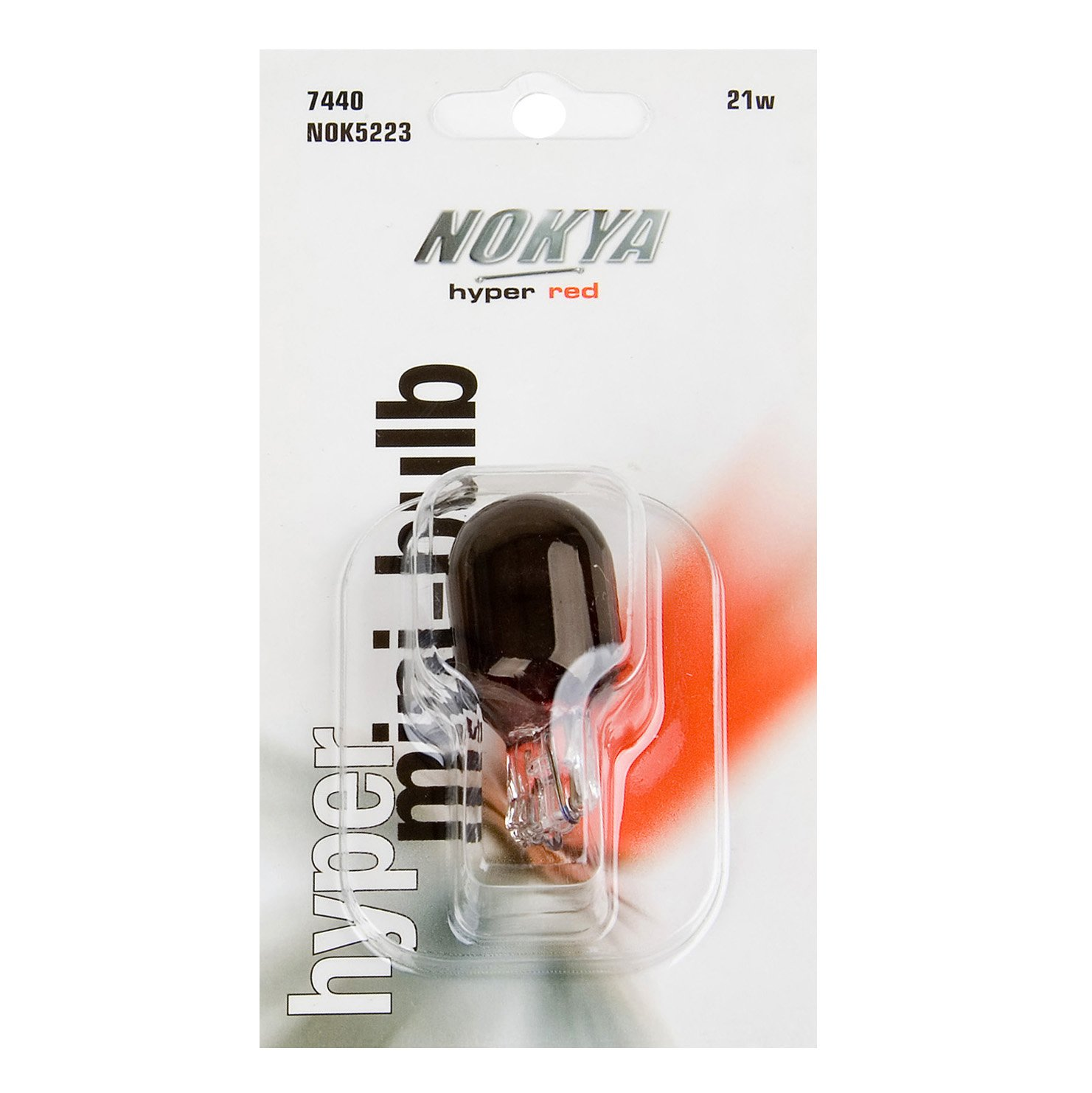 Nokya NOK5223 Red 21W 42 mm Hyper Pro Mini Bulb - 1 Piece