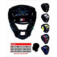 3x Sport Casco Protezione Testa MMA UFC Thai Kick Boxing Formazione Protective Gear