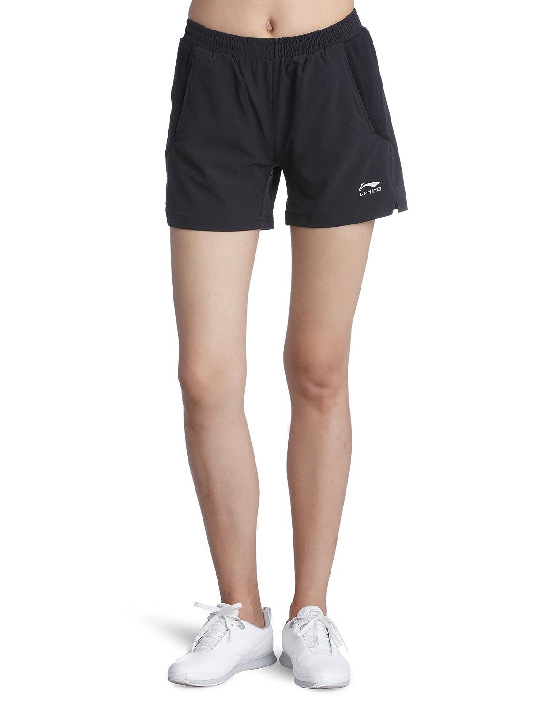 Li-Ning AKSG004-1 - Calcetines para mujer, color negro, talla X-Large