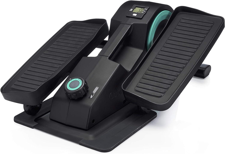 Amazon.com : Cubii JR1 Seated Under Desk Elliptical Machine for Home Workout, Mini Elliptical, Desk Bike Pedal Exerciser, Whisper Quiet, Under Desk Pedal Exerciser w/Adjustable Resistance & LCD Display - Aqua :