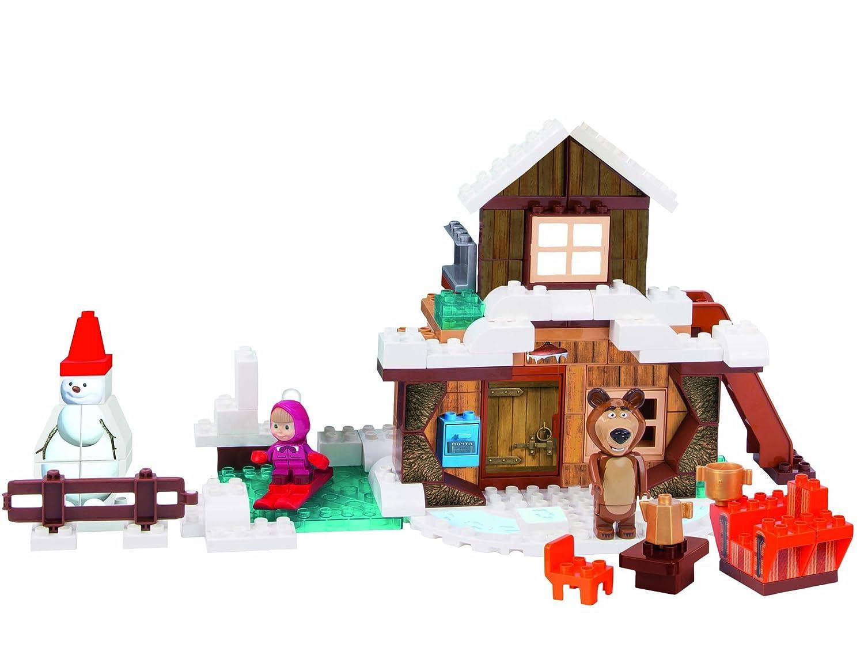 BIG Masha Costruzioni Casa Inverno di Orso, 122 Pezzi, 800057100