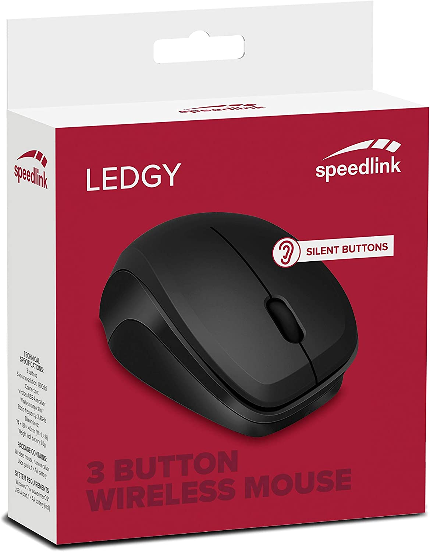 Speedlink Ledgy Mouse Kabellose 3 Tasten Maus Mit Computer Zubehör