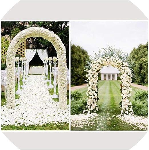 XY-young-Wedding arch Arco de Boda para jardín, pérgola de Hierro, Soporte de Flores, Marco para Matrimonio, cumpleaños, Boda, Fiesta, decoración: Amazon.es: Jardín