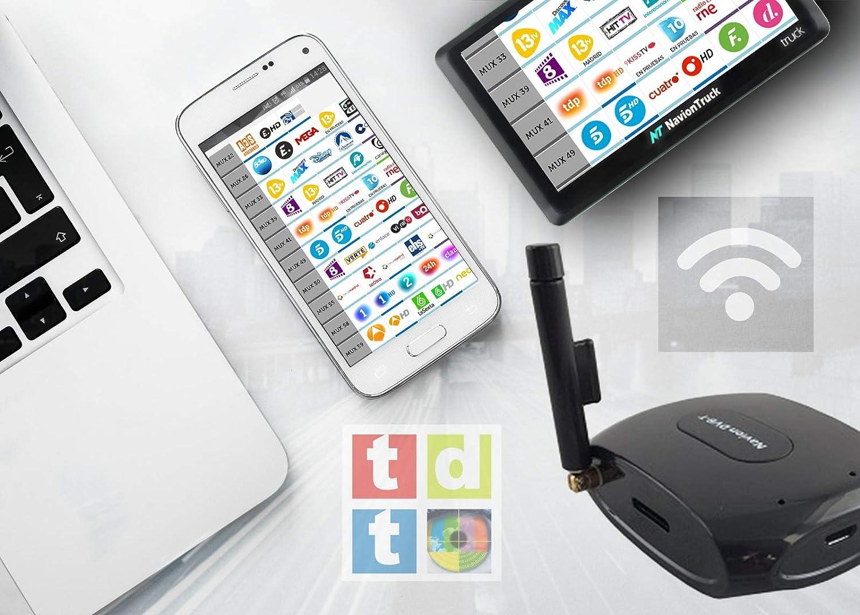 Navion DVB-T - Antena de Televisión TDT Inalámbrica para ...