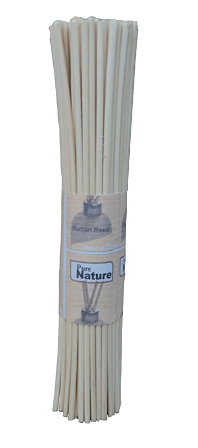 Pure Source India Pure Source Reed Sticks 7 Inch 25 Pcs In One Bunch To Use For Reed Diffuser Oil (25)