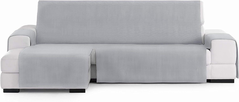 Eysa Levante Funda de sofá, Algodón, Gris, 240 CM. Izquierda