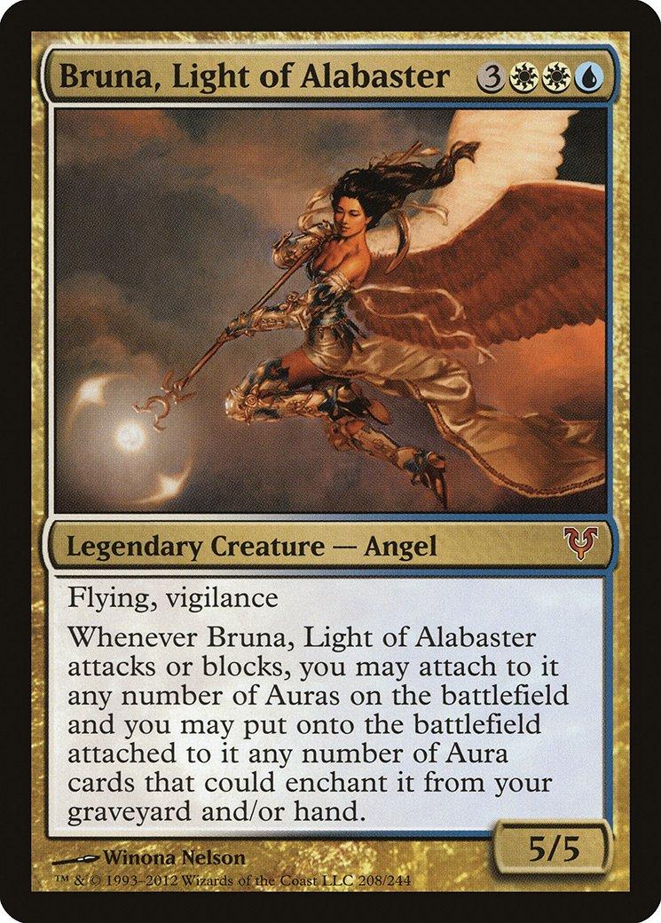 Magic The Gathering - Bruna, Light of Alabaster (208) - Avacyn Restored