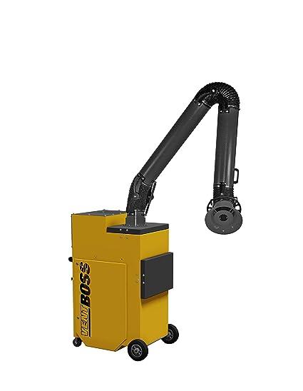 VentBoss S120/G120 Portable Weld Fume Extractor w/ (1) 8