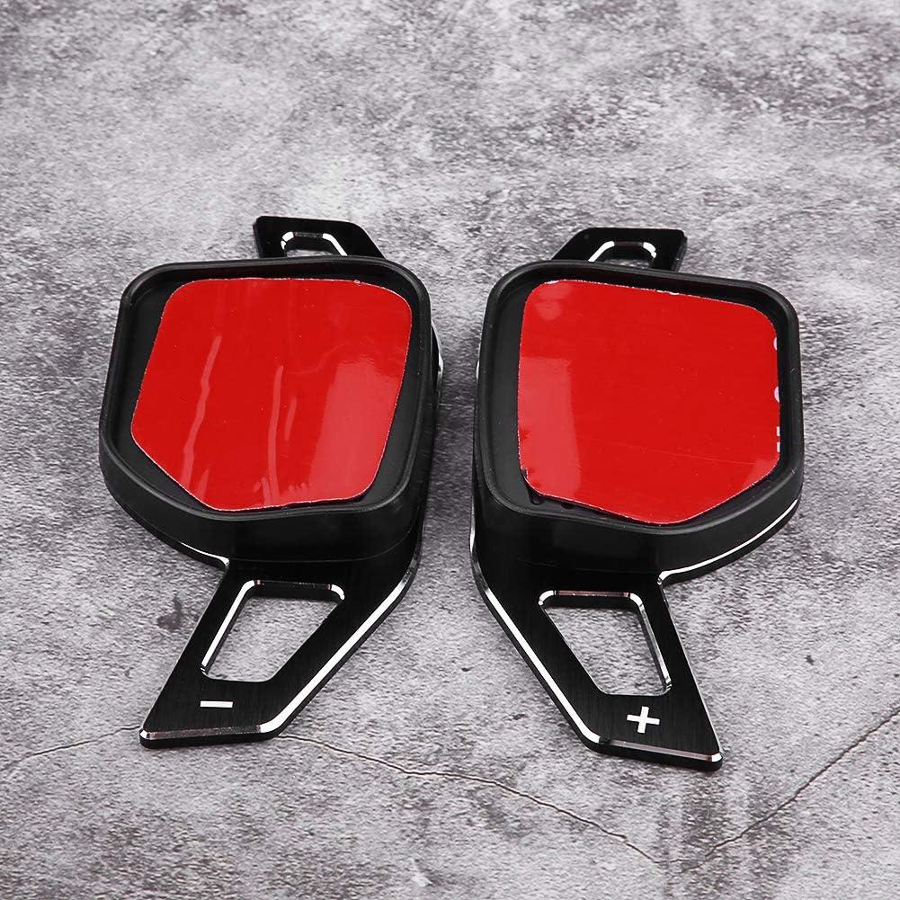 Paletas de cambio del volante 1 par de extensi/ón de la palanca de cambio de la paleta del volante para Au-di A1 A3 A4 A6 A7 A8 Q5 Q7