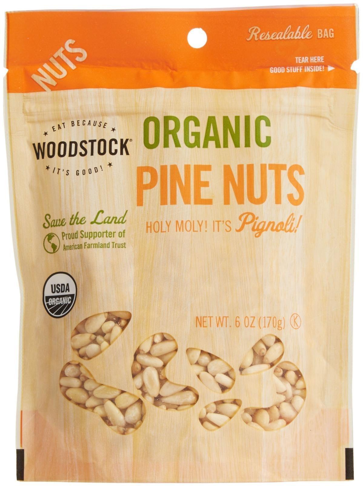 Woodstock Farms Organic Pine Nuts-6 oz
