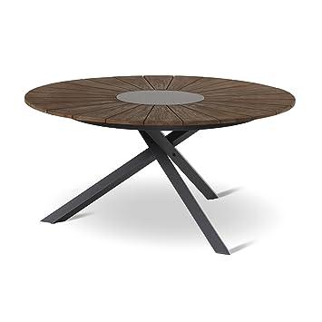 Hartman Table de Jardin Provence Hexagon Ø150 cm Table en ...