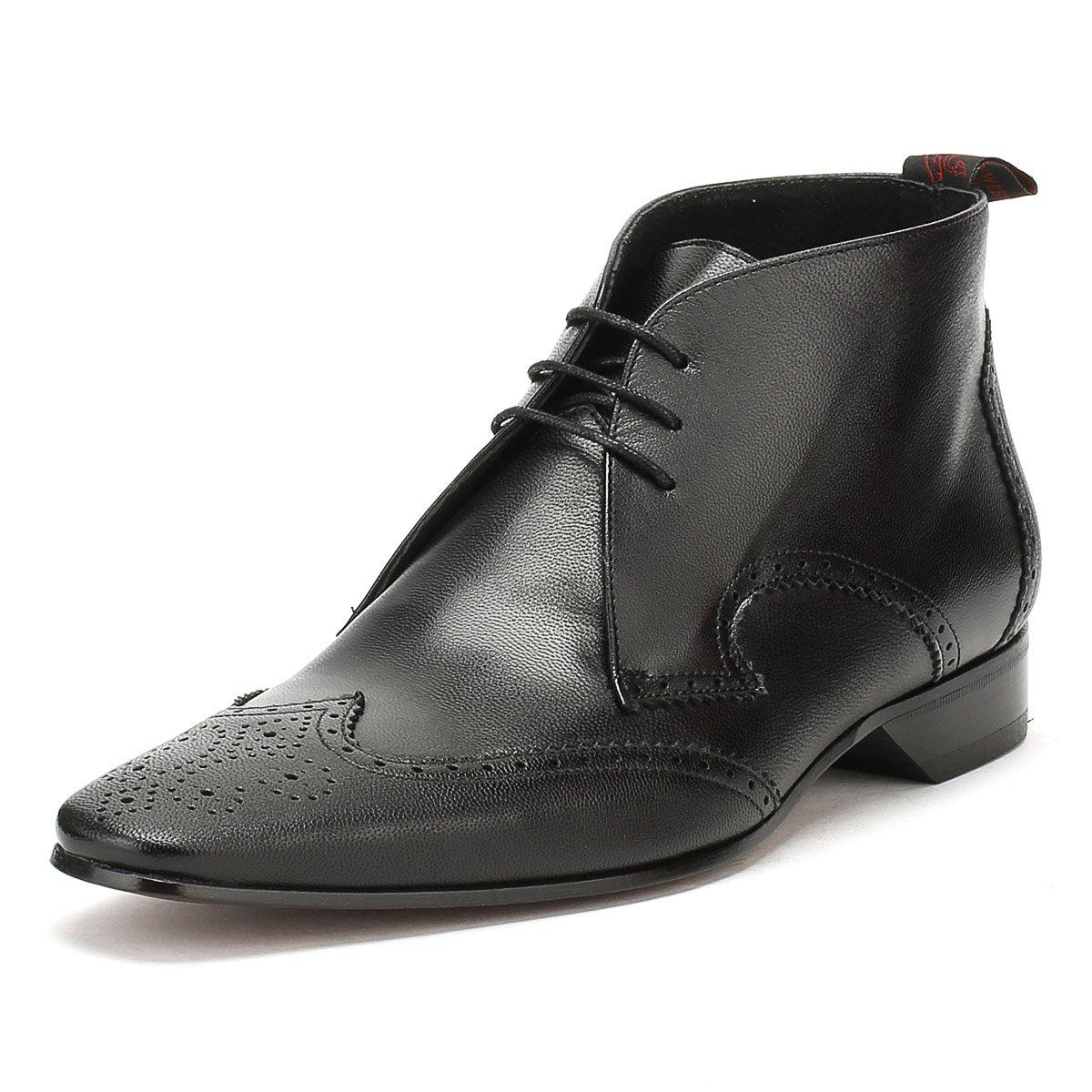 446e3407621 Jeffery West Mens Medusa Black Escobar Brogue Chukka Shoes-UK 11 ...