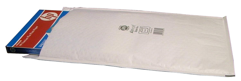 5 JIFFY Bags JL6 Padded Envelopes 290 x 445 White J/6