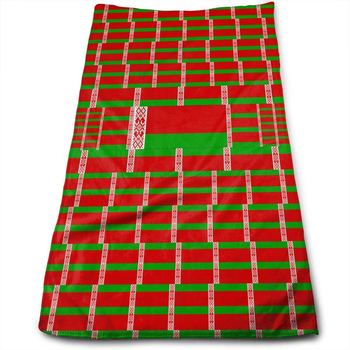 huibe Toallas de Mano Bandera de Islandia con Bandera de Am/érica Toallas de Cara Toallas Altamente absorbentes para Face Gym y SPA 30x70 cm