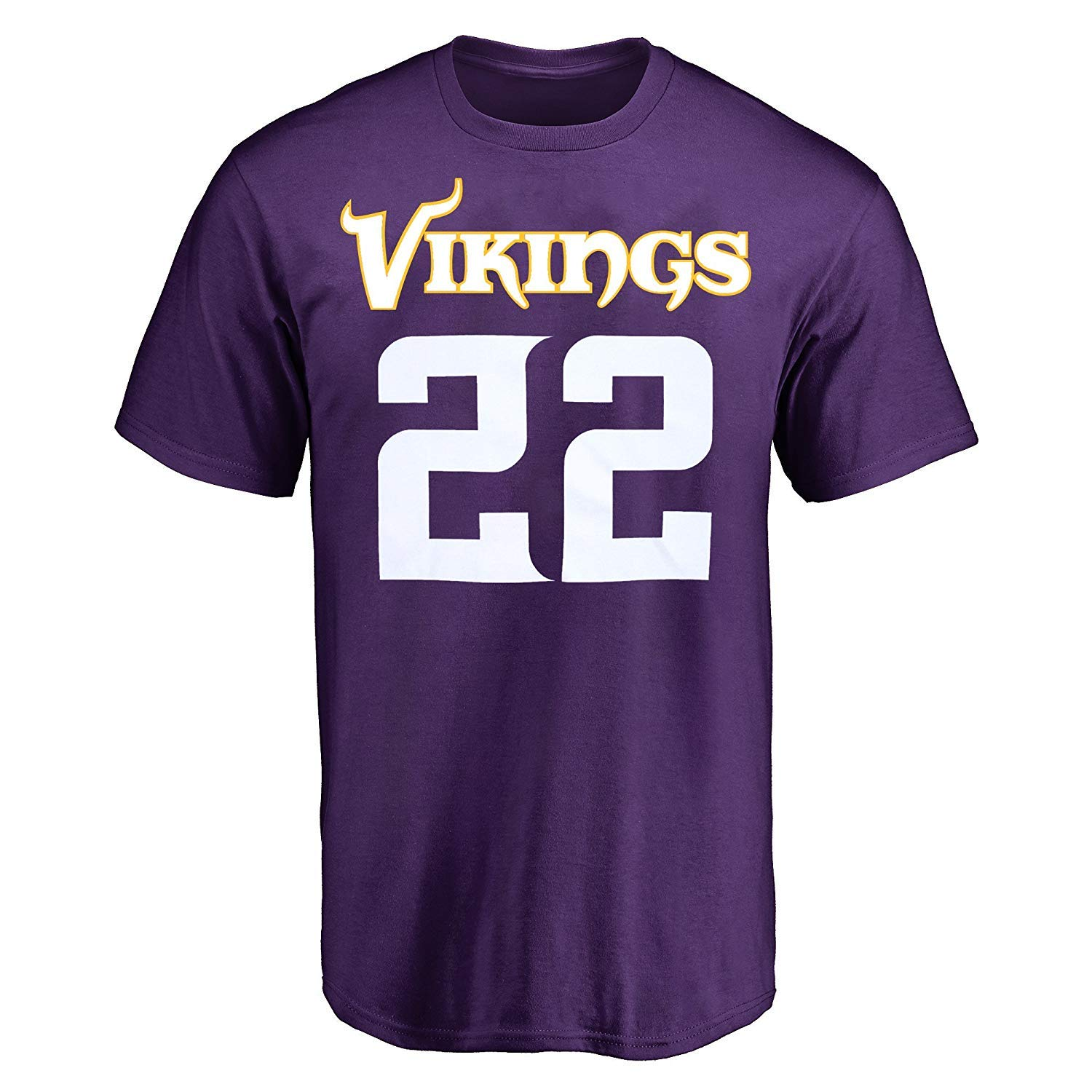 Amazon.com   Outerstuff Harrison Smith Minnesota Vikings  22 Purple Youth  Performance Name   Number Shirt   Sports   Outdoors 066f25918