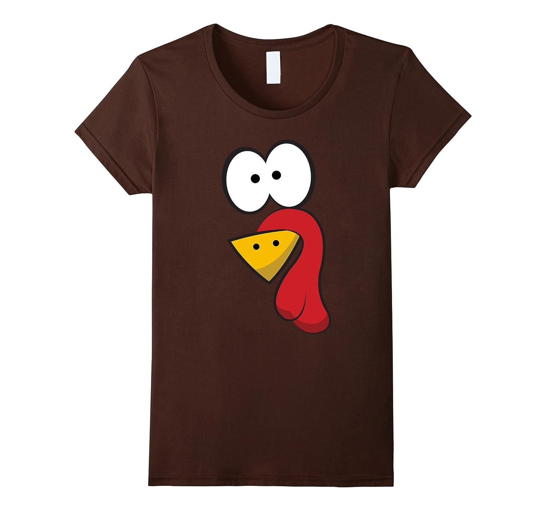 Funny Turkey Face T-Shirt