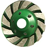 TargetEvo Concrete Turbo Diamond Grinding Wheel for Angle Grinder