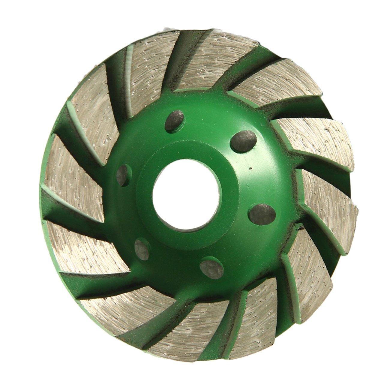 Raomdityat 1pc Concrete Turbo Diamond Grinding Wheel for Angle Grinder