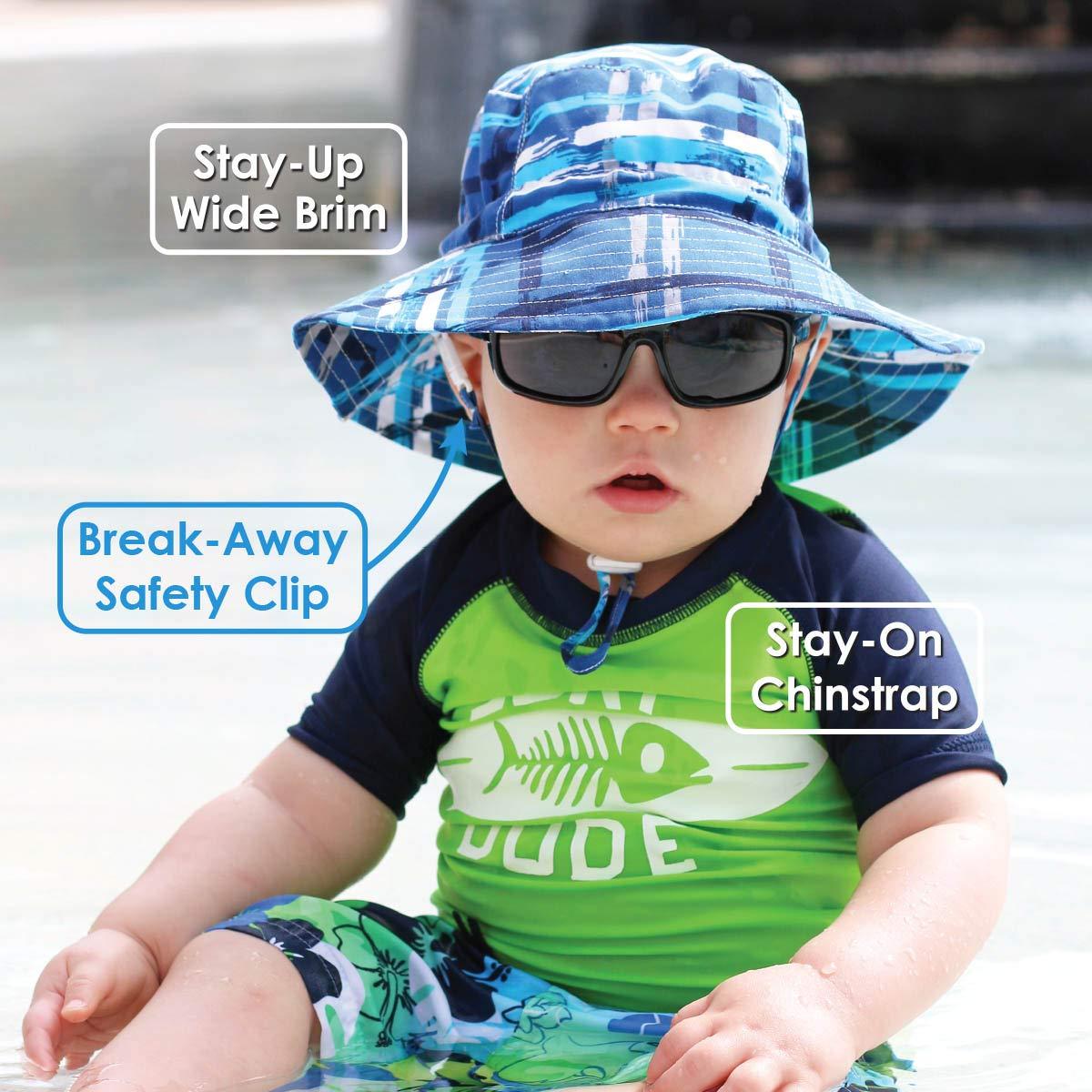 aa954198a4a70 Amazon.com  JAN   JUL Girls Quick-Dry Sun-Hat 50+UPF Protection ...