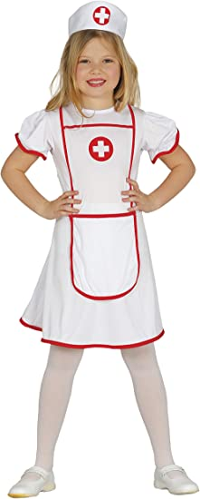 Guirca- Disfraz 5-6 años Enfermera, u (85946.0): Amazon.es ...